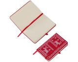 Cuaderno A6 con diseño navideño.